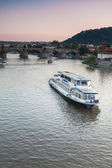 Cruise on Prague — Stock Photo