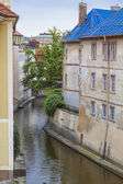 Devil's Stream in Prague, Czech Republic. — Stock Photo