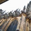 Stock Photo: St Vitus Cathedral in Prague