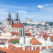 Prague cityscape — Stock Photo