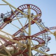 Ferris Wheel and Roller Coaster — Stock Photo #41896085