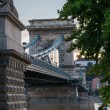 Chain Bridge in Budapest, Hungary — Stock Photo #41896363