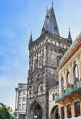 Powder Tower in Prague, Czech Republic. — Stock Photo