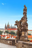 Charles Bridge in Prague. — Stock Photo