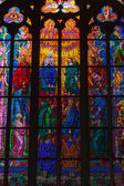 Stained glass — Stockfoto