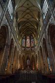 在布拉格圣维特大教堂. — 图库照片