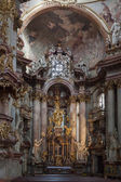 Church of St Nicholas in Prague — Stockfoto
