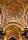 Dome in the Wiener Musikverein. — Stock Photo