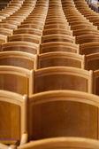 Posti a sedere in una sala — Foto Stock