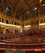 Chamber of the Lower House of the National Assembly of Hungary — Stock Photo