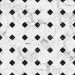White and black mosaic marble texture.(High.Res.) — Foto Stock