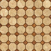 Decoração padrão de mosaico bege — Foto Stock