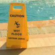 Caution wet floor — Stock Photo #34459433