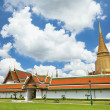 Exterior of the buildings at Grand Palace — Foto de Stock