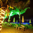 Tropical beach at night time — Stock Photo #13655192