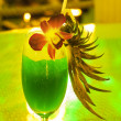 Tropical cocktail on the table — Stock Photo
