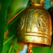 Stock Video: Buddhist wishing bells