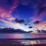 Spectacular sunset — Stock Photo