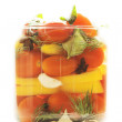 Canned vegetables — Stock Photo #18520425