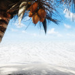 White sand — Stock Photo