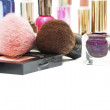 Stock Photo: Cosmetics. Shallow depth of field.