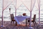 Lugar para cena romántica — Foto de Stock