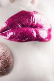 Make up. Vertical shot. — Stock Photo