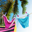 Ready for good vacation. Vertical composition. — Stock Photo