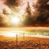 Storm over paradijs — Stockfoto