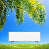 Prázdné billboard — Stock fotografie