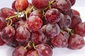 Cerrar el cuadro de uvas rojas — Foto de Stock