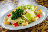 Plate of traditional Italian vegetable salad. — Stock Photo
