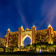 DUBAI, UAE - DECEMBER 03: Atlantis hotel on December 03, 2013 in Dubai, UAE. Atlantis the Palm is a luxury 5 star hotel built on an artificial island — Stock Photo