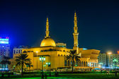 King Faisal mosque,Sharjah,UAE — Stock Photo
