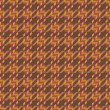 Tweed Texture in Orange - Stock Vector