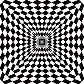 Optical Check Perspective — Stock Vector