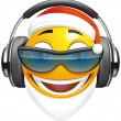 Emoticon SantDJ — Stock Photo #12646434