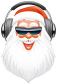 Santa DJ — Stock Photo