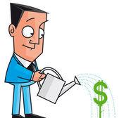 Making money — Stock Photo
