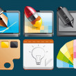 Graphic design  icons — Stock Photo
