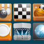Leisure icons — Stock Photo