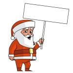 Santa sign — Stock Photo #36900595