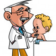 Pediatrician — Stock Photo #38326659