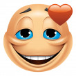 Emoticon in love — Stock Photo #41235671
