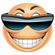 Emoticon sunglasses — Stock Photo #41235973
