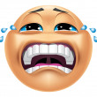 Emoticon crying — Stock Photo #41236057