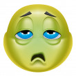 Emoticon sick — Stock Photo #41236517