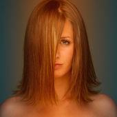 Piękno portret atrakcyjna młoda kobieta — Zdjęcie stockowe