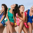 Four Women Friends — Stock Photo #16947869
