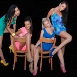 Four Women Friends — Stock Photo